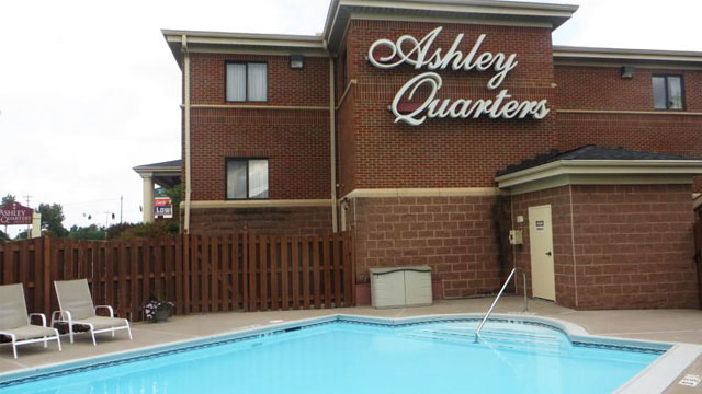 Ashley Quarters Hotel Outdoor Pool