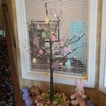 Easter decorations at the Ashley Quarters Hotel